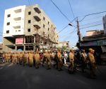Security beefed-up in Hyderabad on the eve of 22nd anniversary of demolition of Babri Masjid