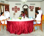 Stills of actor Manchu Vishnu with Hon'ble Governor of Maharashtra Shri CH. Vidyasagar Rao