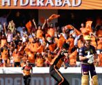 Lynn's 51 help KKR set 160-run target for SRH