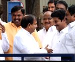 A.Revanth Reddy at Telangana Council Hall