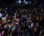 : Hyderabad: Telangana BJP President Asaduddin Owaisi addressing a public meeting in Huzurabad