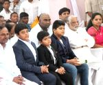 KCR during Christmas celebrations at Centenary Methodist Church