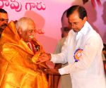KCR during a May Day programme