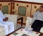 KCR calls on Telangana Governor
