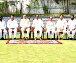 Telangana cabinet expanded with induction of 10 ministers