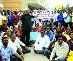Telangana HC asks RTC to pay salaries to striking workers