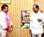 Hyderabad : The district legislators thanked the state chief minister K. Chandrashekar Rao for approving Sangameshwar Basaveshwar and giving him administrative permission in Hyderabad