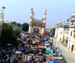 Hyderabad : The historic old city of Hyderabad and the new city and Cyberabad Banjara hills were completely deserted in the city 18th April.