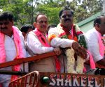 G Deviprasad files nomination papers for the Graduates' Constituency MLC elections