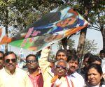 Bandaru Dattatreya flies kite on Makar Sankranti