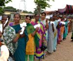 Over 30 per cent voting in Telangana's Huzurnagar bypoll