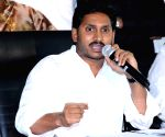 YS Jaganmohan Reddy's press conference