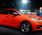 Hyundai launches next-gen Hyundai Verna