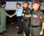 IAF chief visits Hakimpet AFS