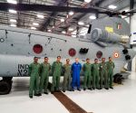 IAF pilots start training to operate Chinook choppers