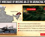Wreckage of missing An-32 aircraft spotted in Arunachal