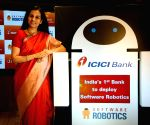 "Chandra Kochhar launches ""Software Robotics"