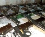 Huge cache of weapons seized under 'Operation Disarm' by TN Police