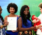 BRAZIL BRASILIA ROUSSEFF BLACK AWARENESS DAY