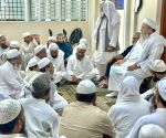 Free Photo: Imams meeting before Ramadan, worried about rising Corona matters.