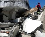 ECUADOR IMBABURA EARTHQUAKE RESCUE DOG DEAD