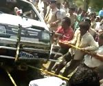 2 killed as school van falls into well in MP