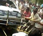 2 killed as school van falls into well in MP