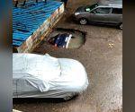 Car swallowed up by Mumba