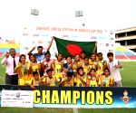Free Photo: Bangladesh Krida Shiksha Prothishtan wins U17 Girls SubrotoCup International Football Tournament