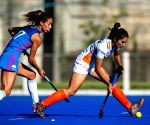 Free Photo: India, Argentina women's hockey