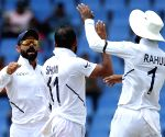 India take 75-run lead, West Indies all out for 222