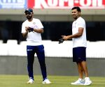 3rd Test Match - India Practice Session - Ajinkya Rahane, Rohit Sharma