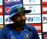 Indian batting coach's press conference