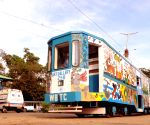 India's first Art Gallery Tram 'Art Gallery on Wheels