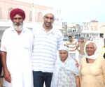 Satnam Singh Bhamara visits  Golden Temple