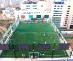India's largest rooftop football arena