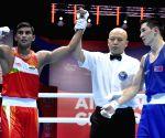 Ekaterinburg (Russia): AIBA Men's World Championships - Manish Kaushik Vs Baatarsukh Chinzorig
