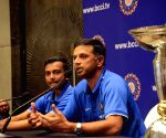 Indian U-19 cricket team's press conference
