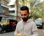 Rahane asks fans about their preference while eating 'vada pav'