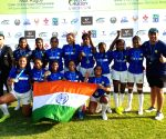 India win silver in Asian U18 Girls' Rugby Sevens Championship