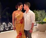 Free Photo: Priyanka Chopra, Nick Jonas celebrate their first Diwali