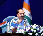 IAF chief Bhadauria tells commanders to be vigilant