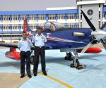 Indian Air Force has received its the first lot of the new basic trainer aircraft 'PC-7 Mk-II'