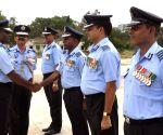Air Marshal P Kanakaraj visits Avadi Air Force Station