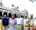Dalbir Singh at Mysore palace