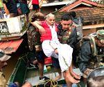 Ernakulam (Kerala): Kerala floods - Rescue operations underway