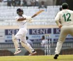 3rd test - Day 2 -  Ajinkya Rahane plays a shot