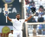 3rd test - Day 2 -  Rohit Sharma celebrates the double century