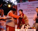 Mary Kom felicitated by Jual Oram
