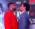 World Boxing Championship - Boxers Neeraj Goyat, Amir Khan at a press conference